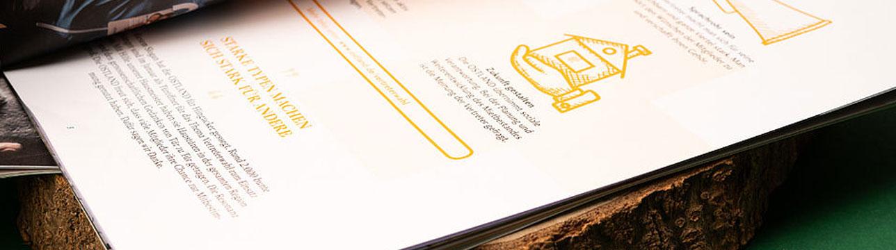 Printdesign in unserer Werbeagentur aus Hannover